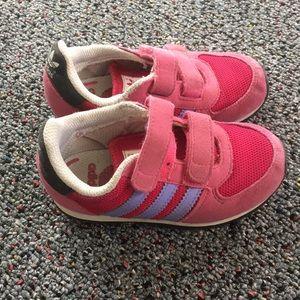 Girls adidas shoes size 7